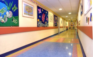 Paediatric Haematology and Oncology-corridor